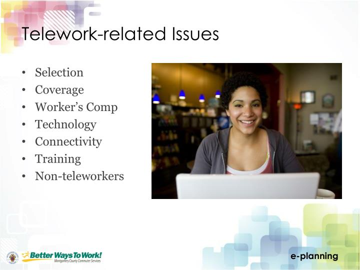 Telework-related Issues