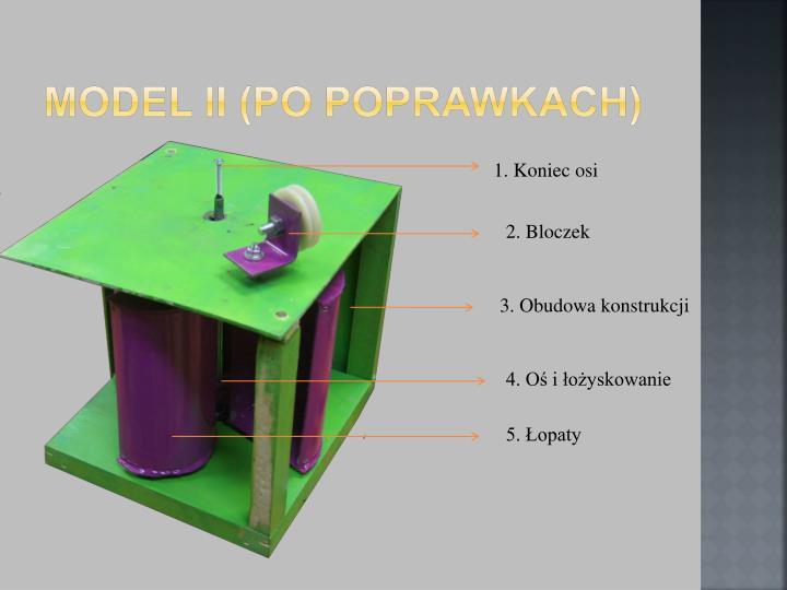 Model II (po poprawkach)