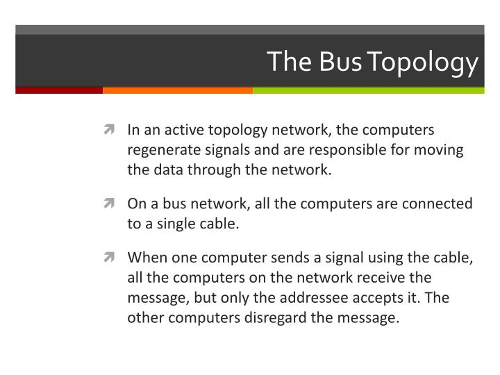 The Bus Topology
