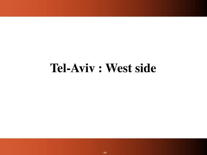 Tel-Aviv : West side