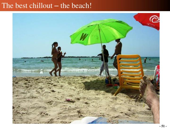 The best chillout