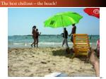 the best chillout the beach