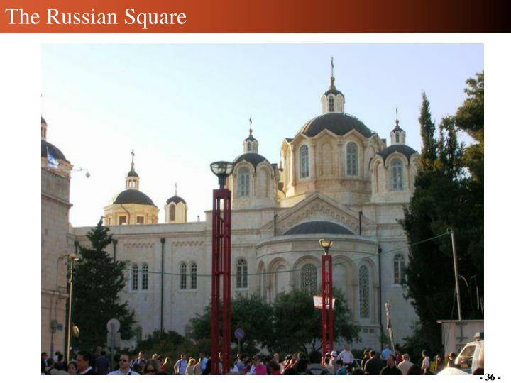 The Russian Square