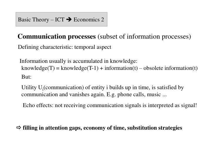 Basic Theory – ICT
