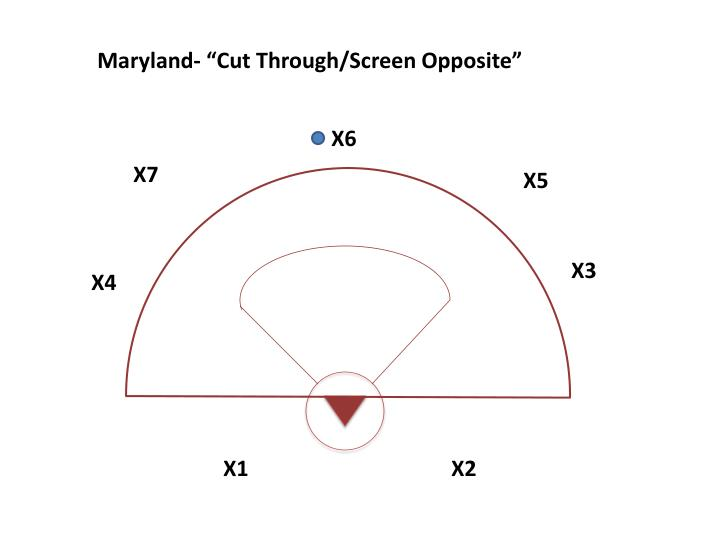"Maryland- ""Cut Through/Screen Opposite"""