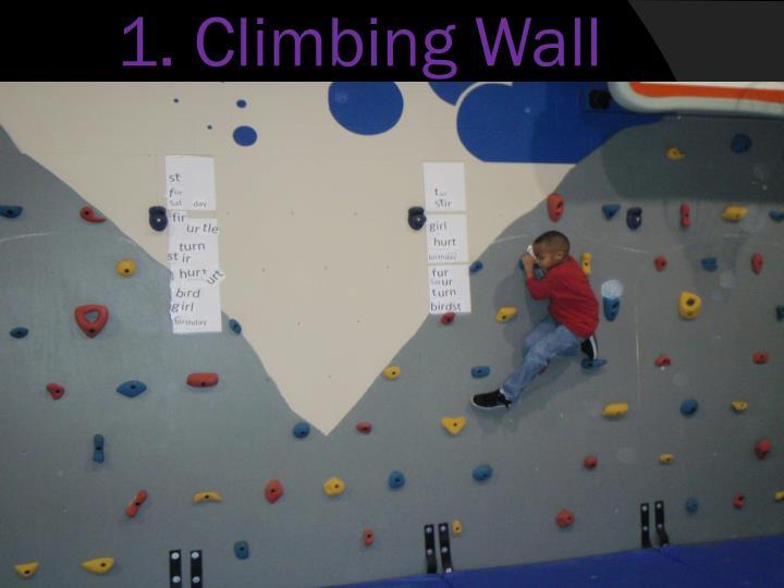 1. Climbing Wall Challenge
