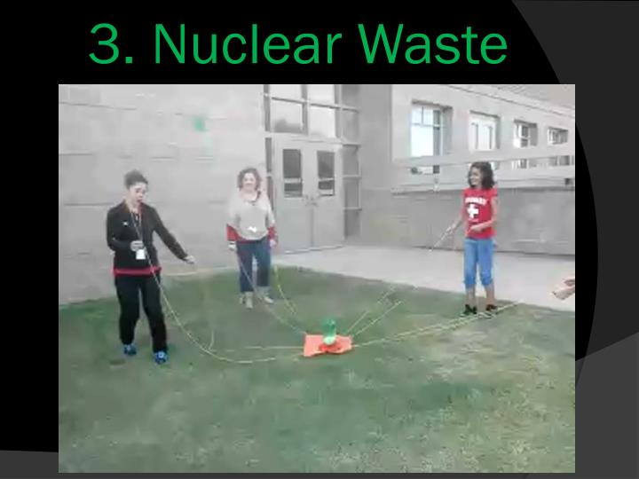 3. Nuclear Waste Transport