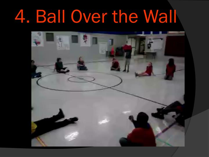 4. Ball Over the Wall