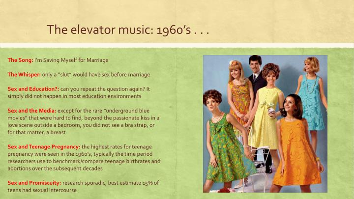 The elevator music: 1960