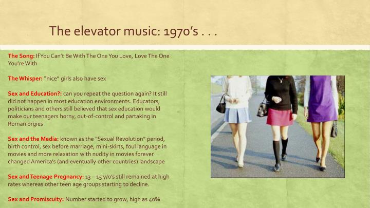 The elevator music: 1970