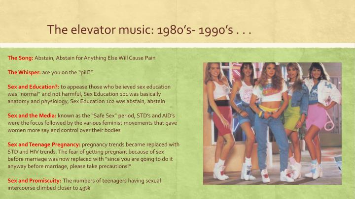 The elevator music: 1980
