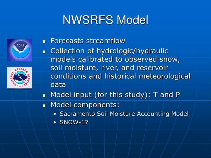 NWSRFS Model