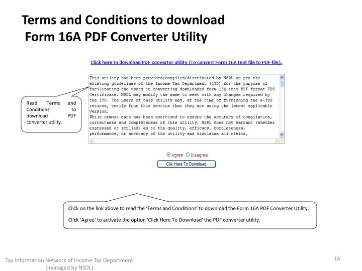 Terms and Conditions to download