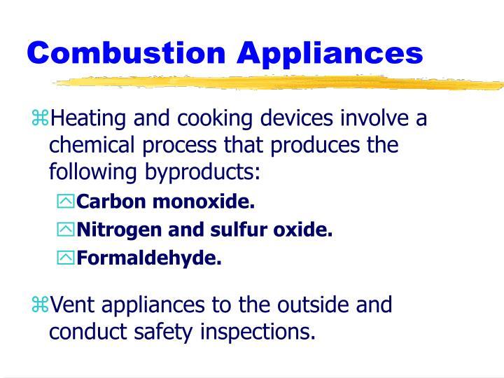 Combustion Appliances