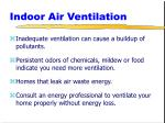 indoor air ventilation