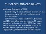 the great land ordinances1