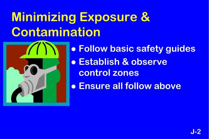 Minimizing Exposure & Contamination