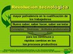 revoluci n tecnol gica