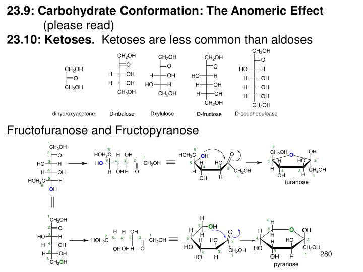 23.9: Carbohydrate Conformation: The Anomeric Effect