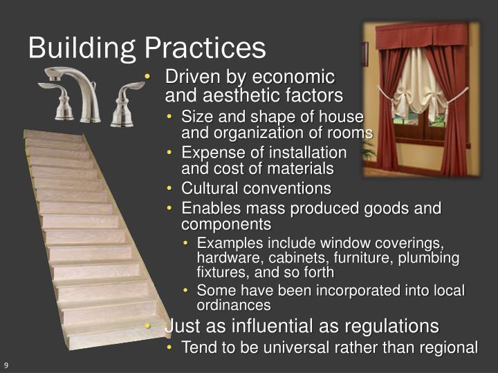 Building Practices