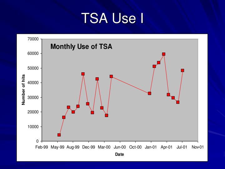 TSA Use I