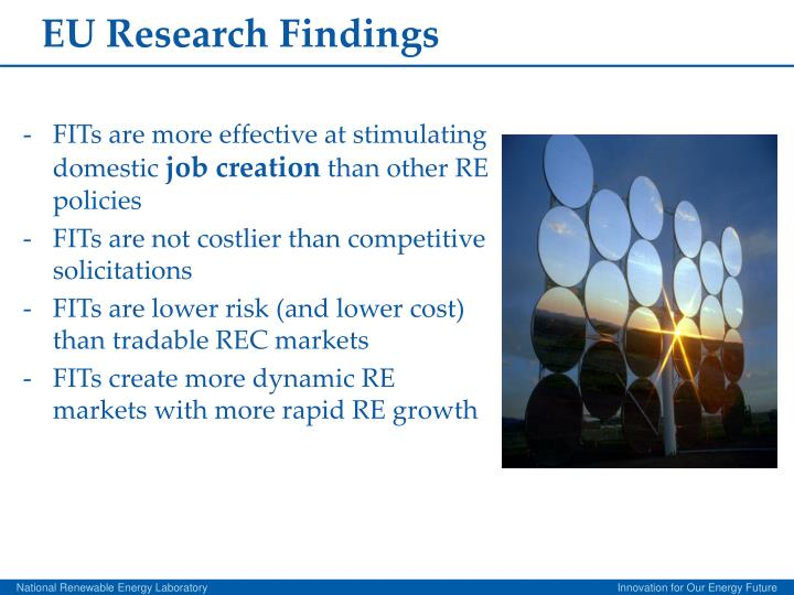 EU Research Findings