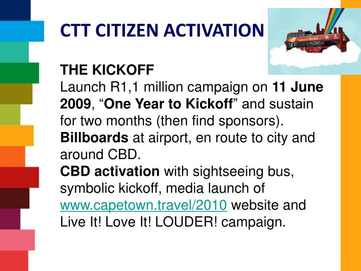 CTT CITIZEN ACTIVATION PLAN