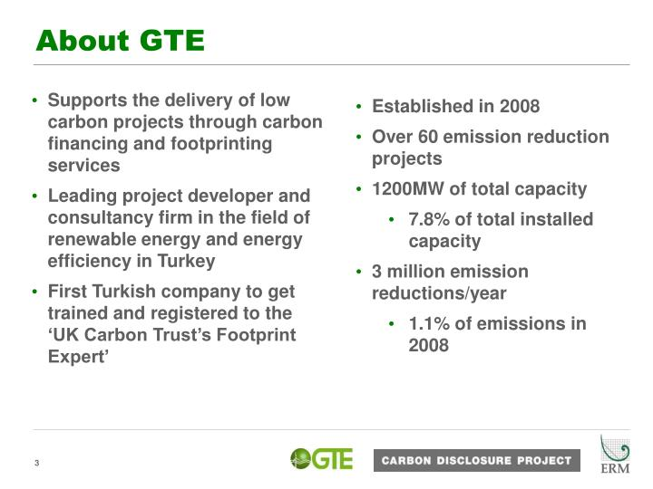 About gte
