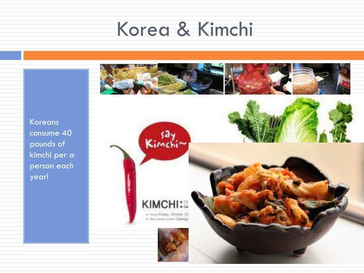 Korea & Kimchi