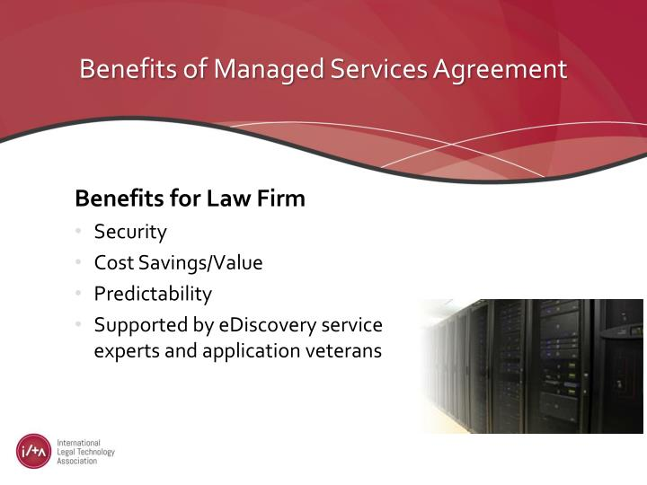 Benefits of Managed Services Agreement
