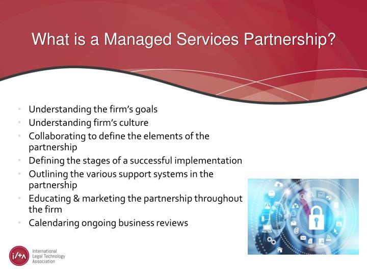 What is a Managed Services Partnership?