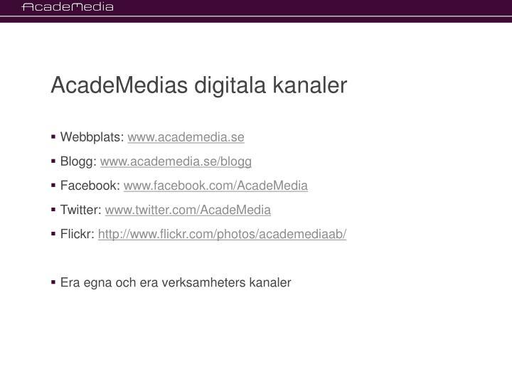 AcadeMedias