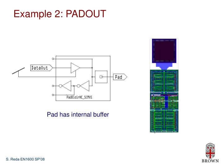 Example 2: PADOUT