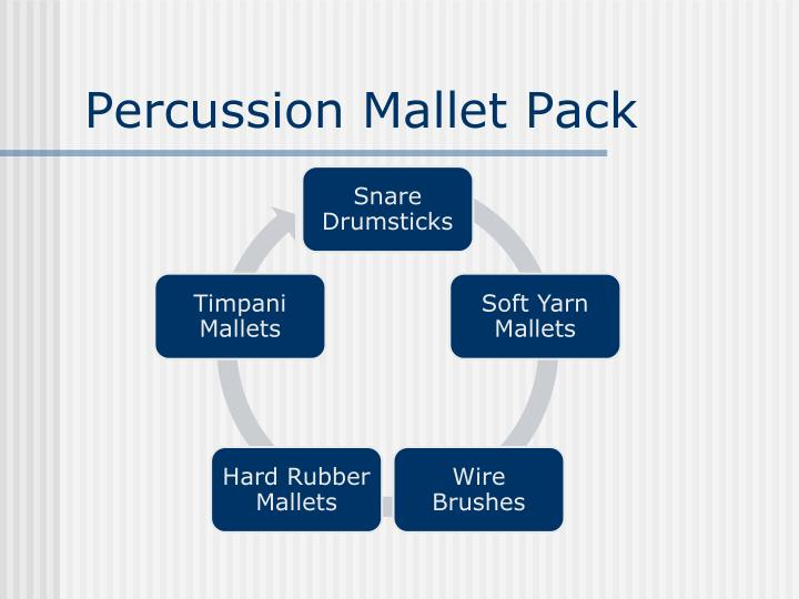 Percussion Mallet Pack
