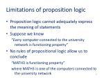 limitations of proposition logic