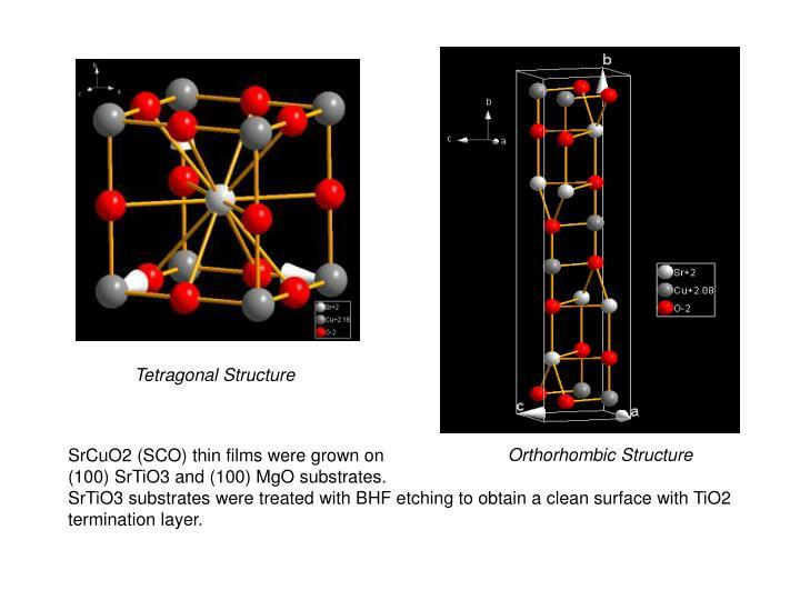 Tetragonal Structure
