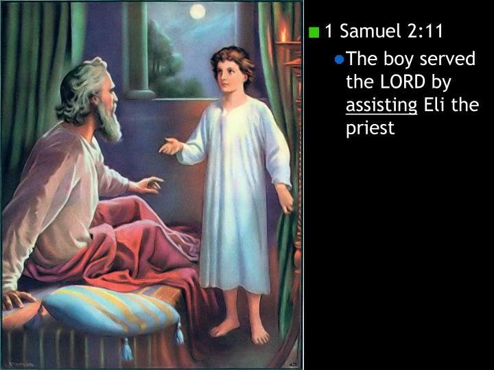 1 Samuel 2:11