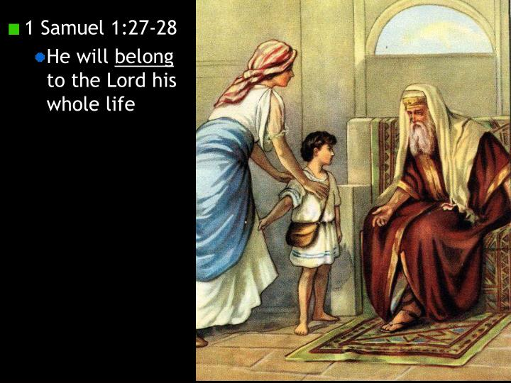 1 Samuel 1:27-28
