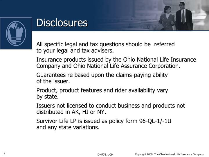 All specific legal and tax questions should be  referred