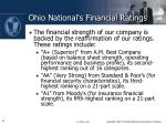 ohio national s financial ratings