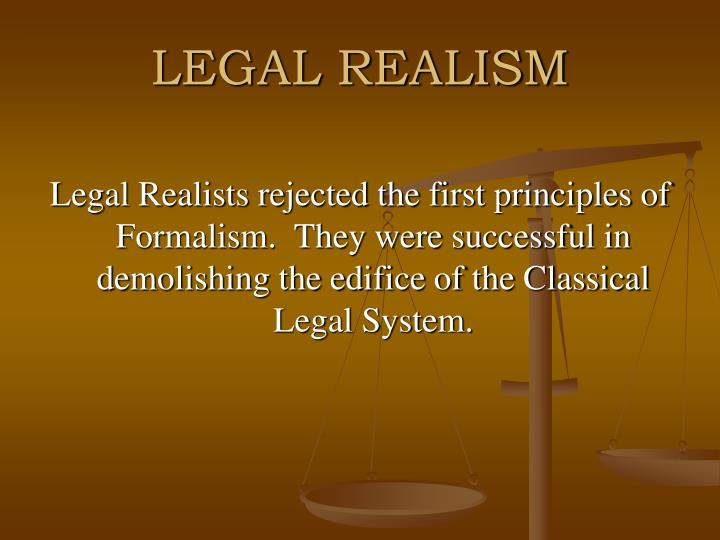 LEGAL REALISM