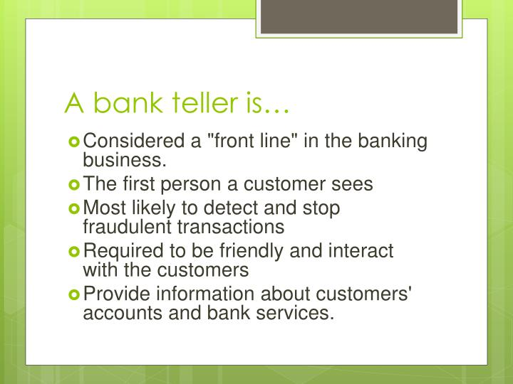 ppt customer service in banking powerpoint presentation