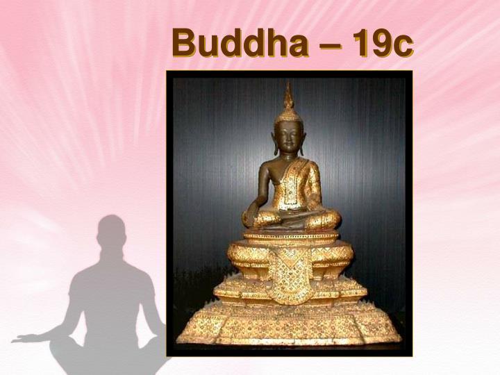 Buddha – 19c Thailand