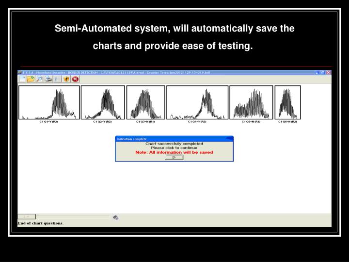 Semi-Automated system, will automatically save the