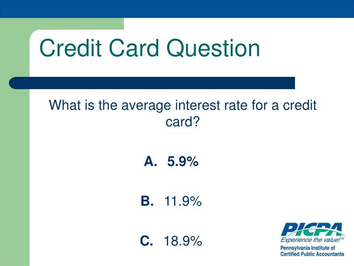 Credit Card Question