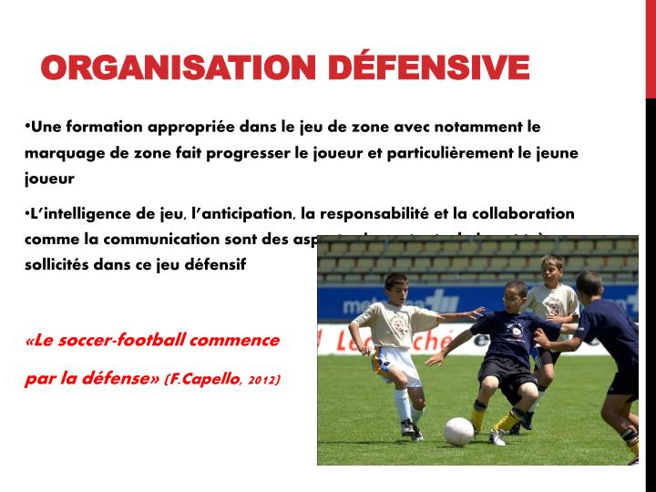 Organisation défensive