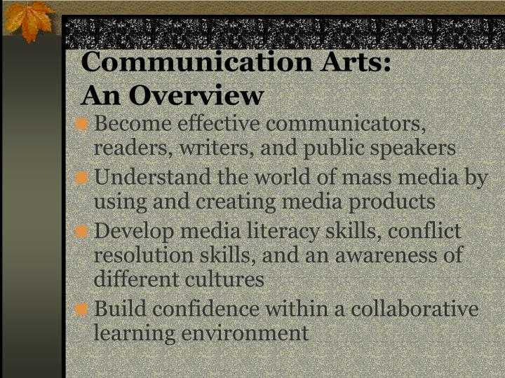 Communication Arts:
