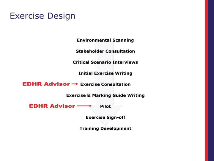 Exercise Design