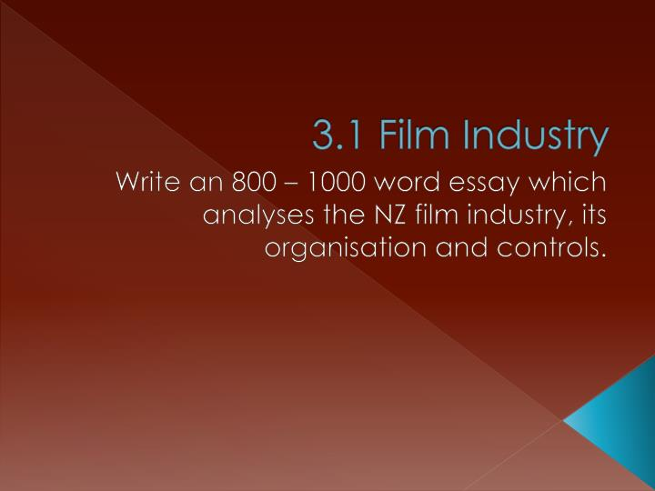 an analysis of the film industry Learn about the various roles which are available in the film sector and which is right for you.