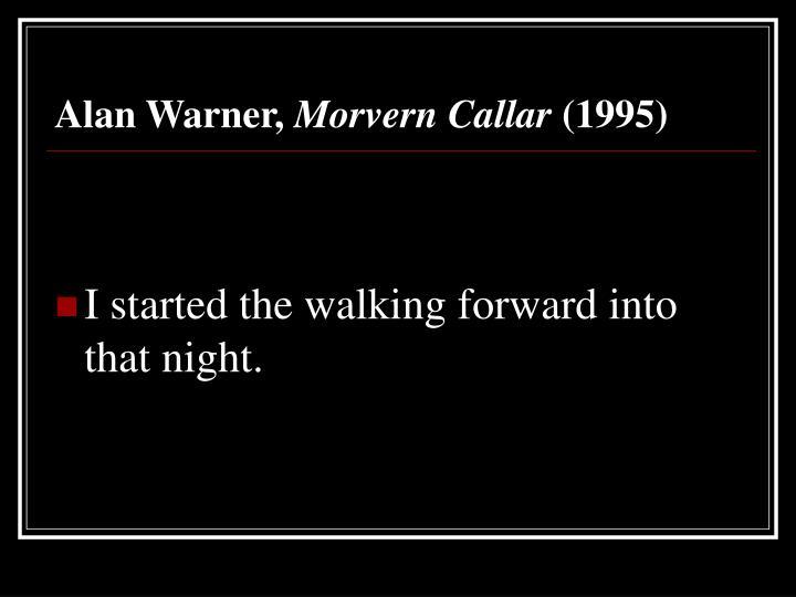 Alan Warner,